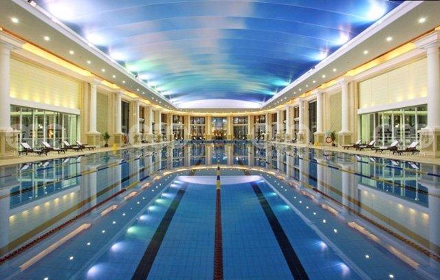 恒温泳池_恒温恒湿室内泳池